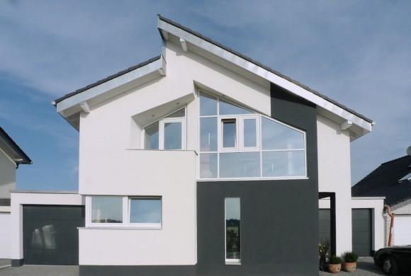 Einfamilienhaus mit Wärmepumpenbeheizung