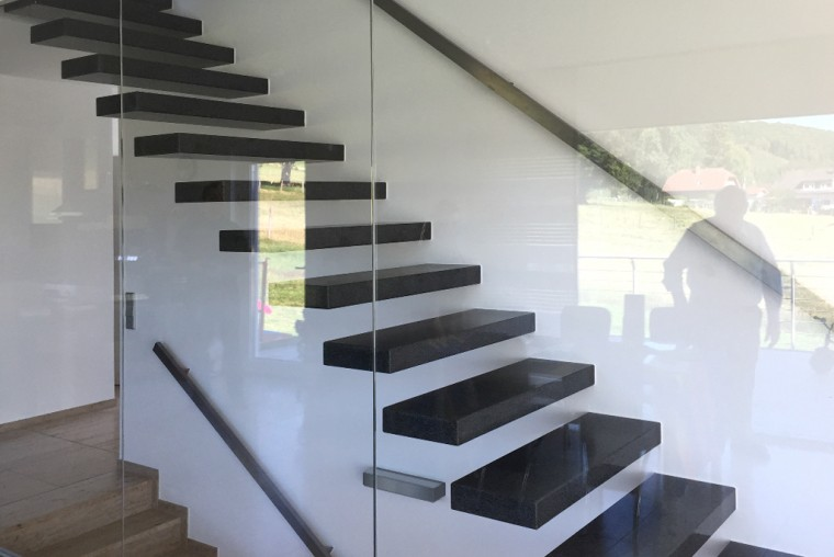 einfamilienhaus im hang | potschernik architekten - Treppenhaus Einfamilienhaus