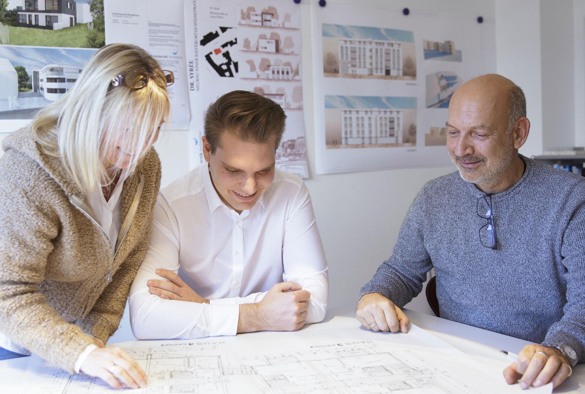 Potschernik Architekten – unser Team